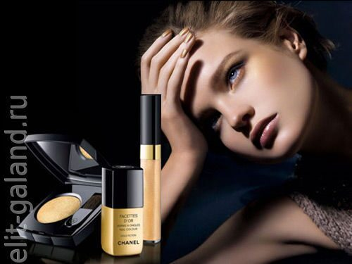 Chanel Facettes D'Or Fall 2008 Makeup Collection