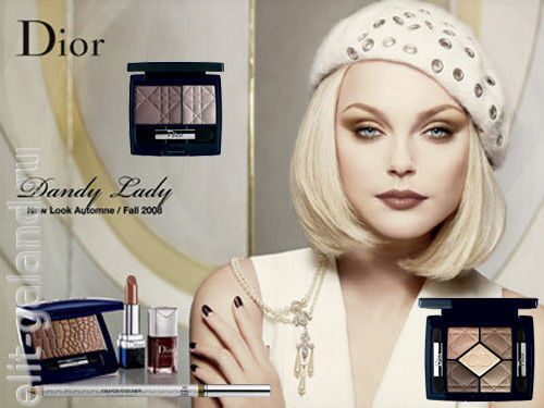 Dior Dandy Lady New Look Fall 2008 Collection
