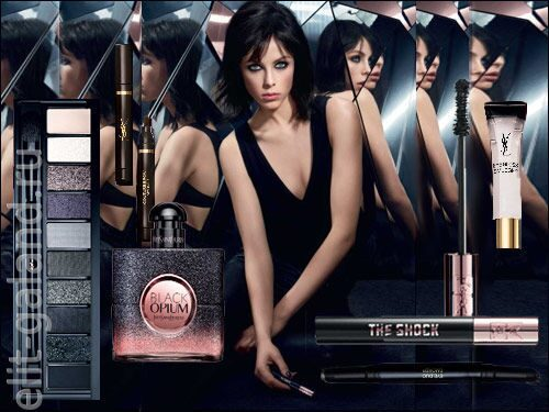 Yves Saint Laurent The Shock Eye Event Spring 2017 Collection