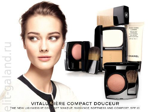 Chanel Face & Cheeks Makeup Fall 2013 Collection