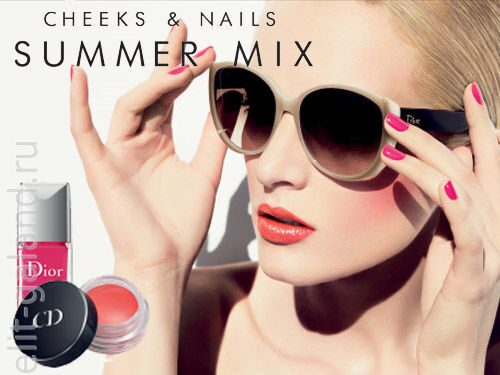 Dior «Cheeks & Nails» Summer Mix Collection 2013