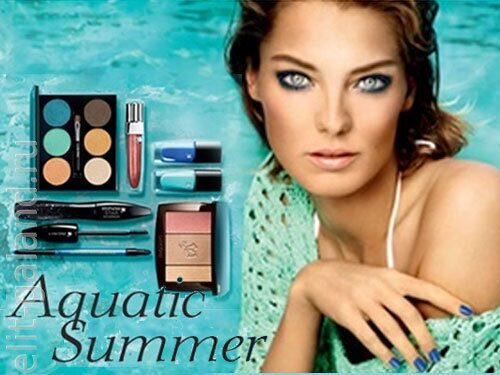 Lancome Aquatic Summer 2013 Makeup Collection