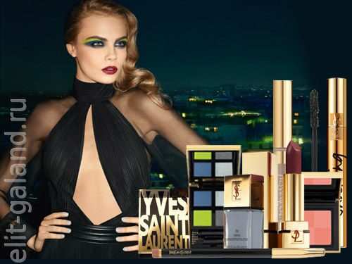 "YSL Fall-Winter 2013 ""City Drive"" Makeup Collection"