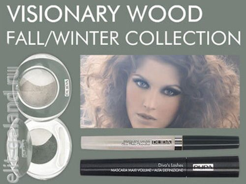 Pupa Visionary Wood Winter 2009 Collection