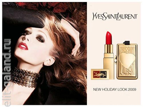 YSL's Holiday Look 2009 - End of Year Event Collection