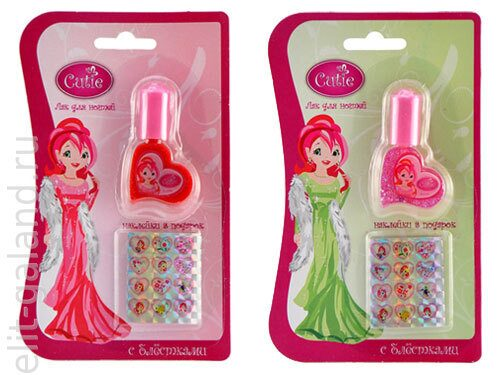 Наборы Disney Cutie Label